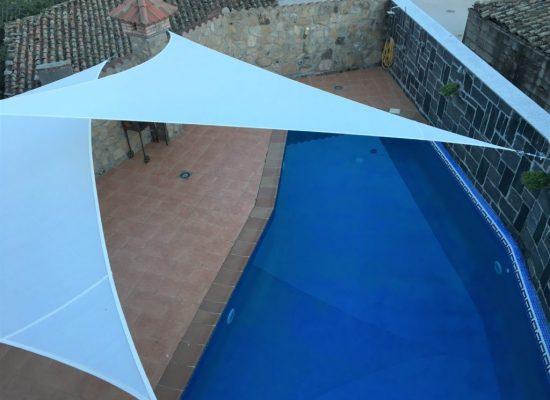foto aerea piscina casa juanin