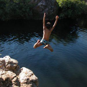 salto de iker en el arenal